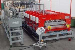 RA-2 multiple hinge embossing machine